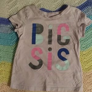 OshKosh Big Sis T-shirt 3T